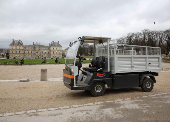 SIMAI Plattformwagen im Luxemburggarten