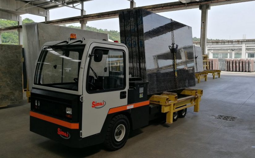 Electric platform truck SIMAI PES150 with small-lift platform