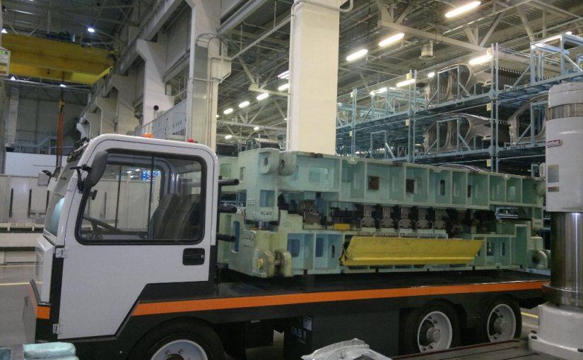 Trasportatore per stampi e bobine SIMAI PEB450