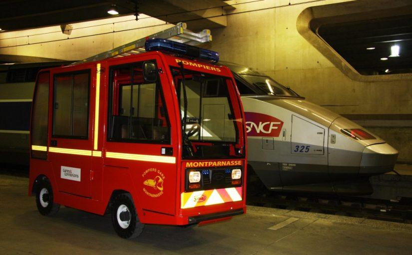 """Presentazione del PPE 6 """"VPI"""" veicolo di pronto intervento nelle stazioni ferroviarie"""