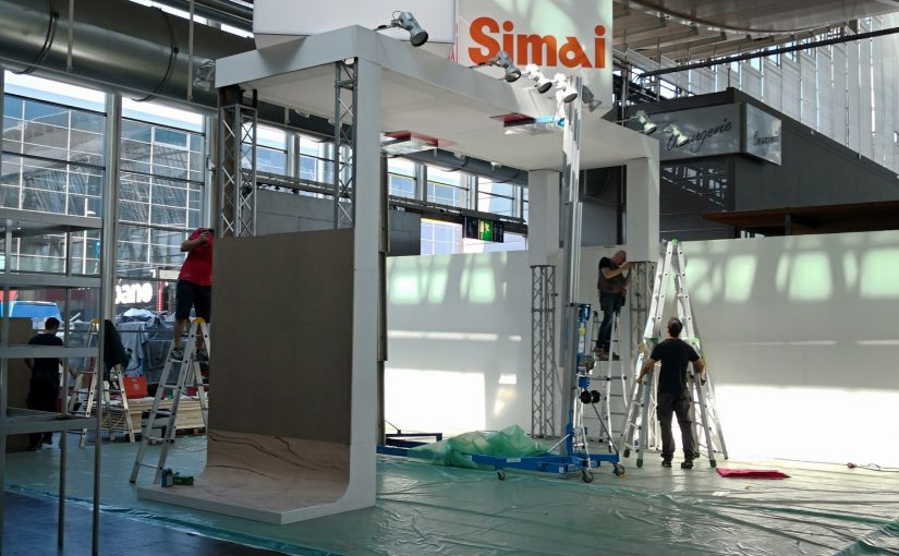 We'll be ready for CEMAT starting monday 23 april.