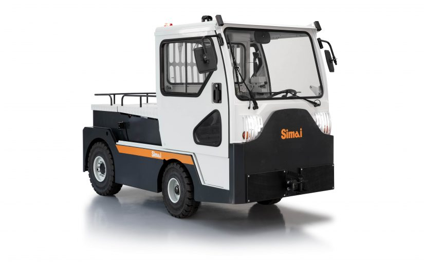 Il nuovo trattore SIMAI TE252 per l'handling aeroportuale