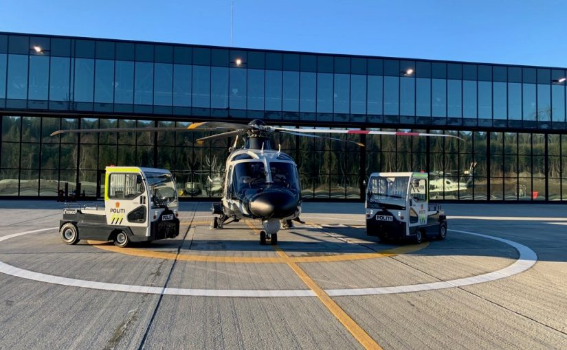 SIMAI tractors join Norwegian Police Helicopter Service