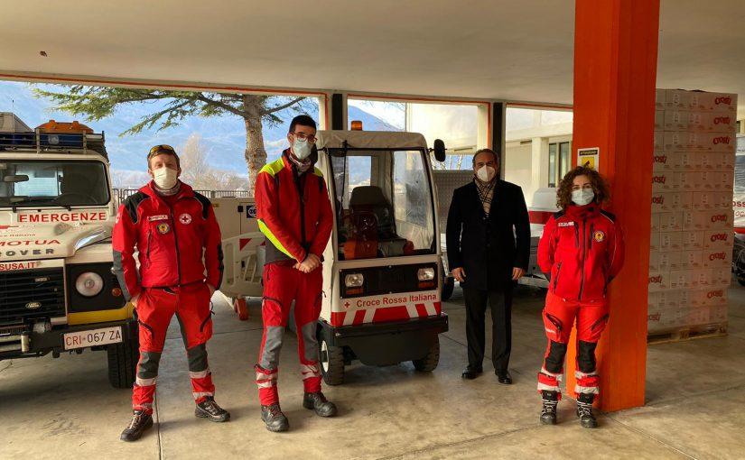 Donazione alla Croce Rossa Italiana